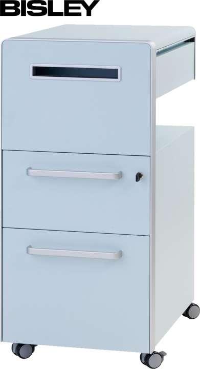 Bisley Bite® Assistenz Möbel mit 2 Schubladen Büro Rollcontainer ...