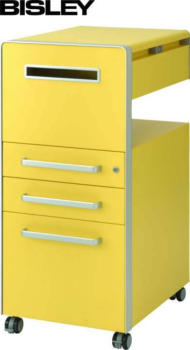 Bisley Bite® Assistenz Möbel mit 3 Schubladen Büro Rollcontainer ...