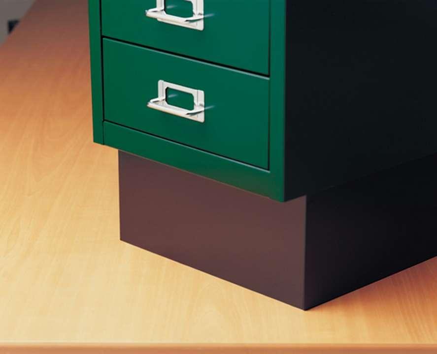 Hoher Sockel für Multidrawer DIN A4 Schubladenschränke hier ...