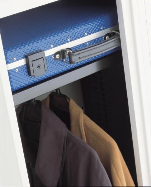 SystemFile™ Garderobenset - Hutboden mit Kleiderstange - 800 mm