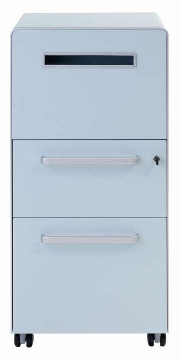 Bisley Bite Assistenz Möbel mit 2 Schubladen Büro Rollcontainer
