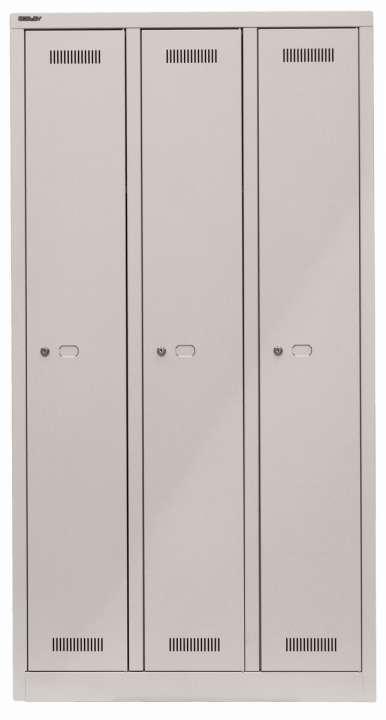 Bisley MonoBloc™ Spindschrank Garderobenschrank | Spind mit 3 ...